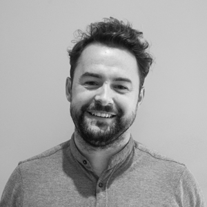 Black and White Image of our Research Manager