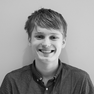 Black and White Image of our Digital Marketing Apprentice