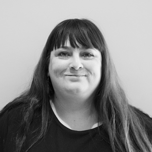 Black and White Image of our Info & Guidance Manager